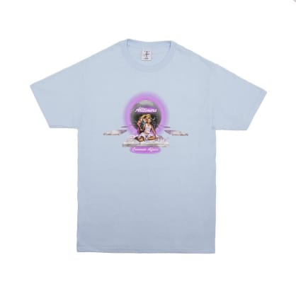 Alltimers Consumer Affairs T-Shirt - Powder Blue