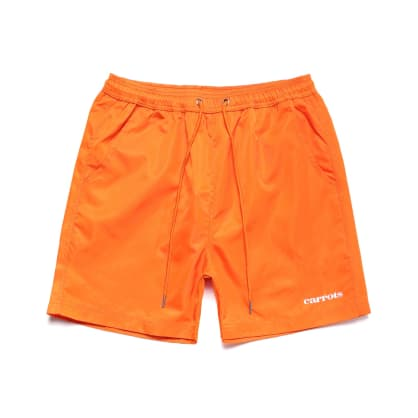 "CARROTS -""SERVADIO WORDMARK NYLON SHORT "" (ORANGE)"