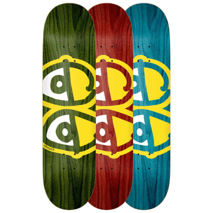 "Krooked Eyes Deck 8.38"" (Assorted Stains)"