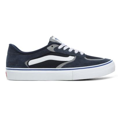 Vans Rowley RapidWeld Pro Skateboard Shoes - Navy / White