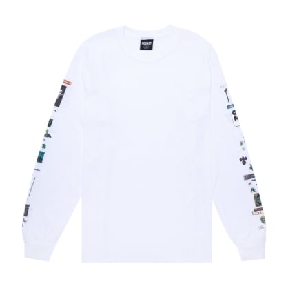 Hockey Summoned Long Sleeve T-Shirt - White
