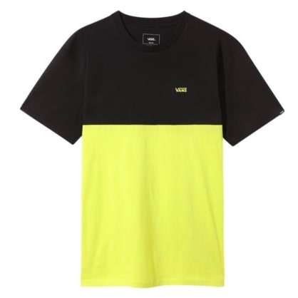 Vans - Colorblock T-Shirt - Sulphur/Spring Black