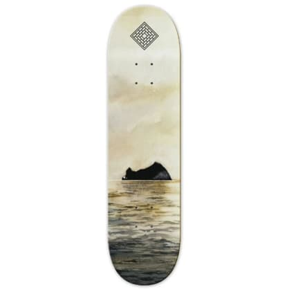 The National Skateboard Co Rock Medium Concave Deck - 8.125""