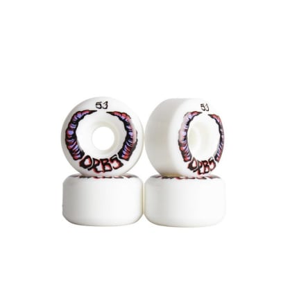 Orbs Wheels- Apparitions 53mm White