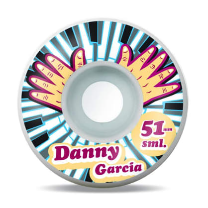 Sml Wheels Danny Garcia Piano Hnads Wheels 51mm
