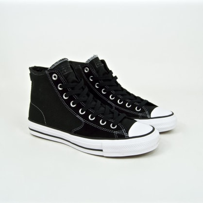 Converse Cons - CTAS Hi Pro OX (Workwear) Shoes - Black / Orange / White