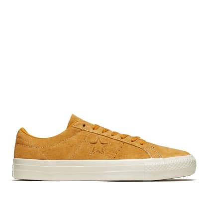 Converse CONS One Star Pro Ox Shoes - Saffron / White