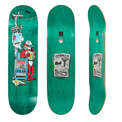 Polar Aaron Herrington Breaking News Deck 8""