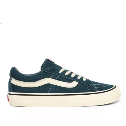 Vans Sk8-Low Reissue SF Skate Shoes - Atlantic Deep / Antique White
