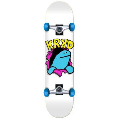 "Krooked Skateboards - Krooked Komplete Schmooday Mini Complete 7.38"" | White"
