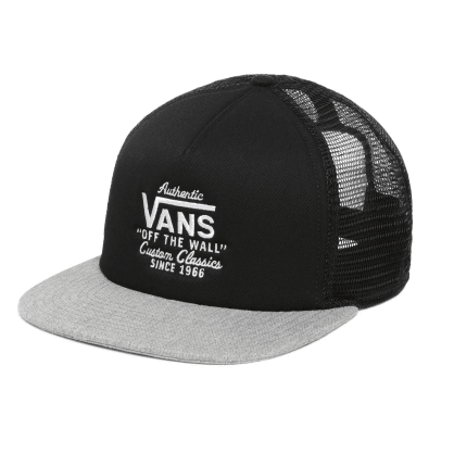 Vans Galer Trucker - Black-Heather Grey