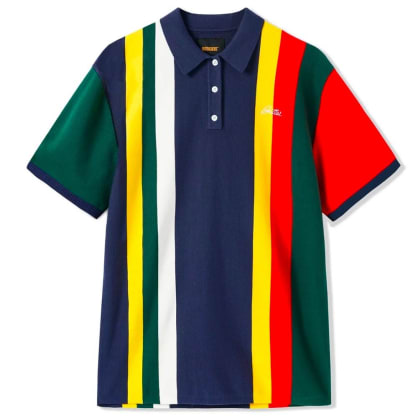 ButterGoods SANTOSUOSSO POLO SHIRT, MULTI