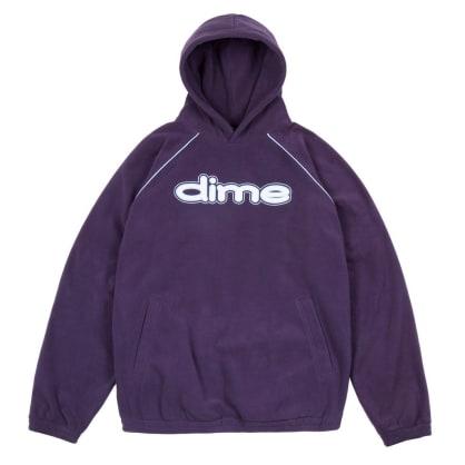 Dime Fleece Hoodie - Purple