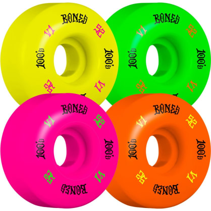 Bones 100's Party Pack 52mm Wheels