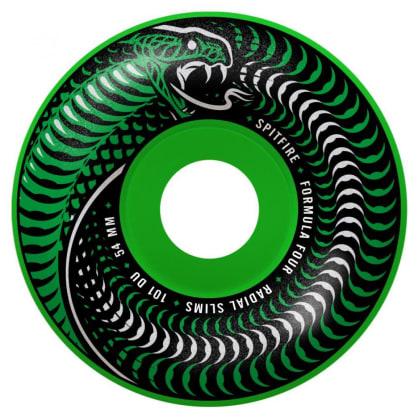 Spitfire Formula Four Radial Skateboard Wheels Venomous Radial Slims 101DU 53mm