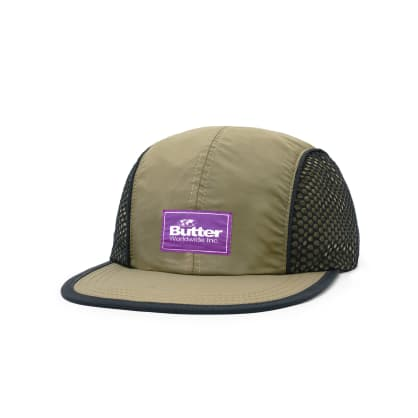 "BUTTER GOODS- ""EXPEDITION 5 PANEL CAP"" (OLIVE)"