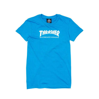 Thrasher Womens Skate Mag Logo T-Shirt - Teal