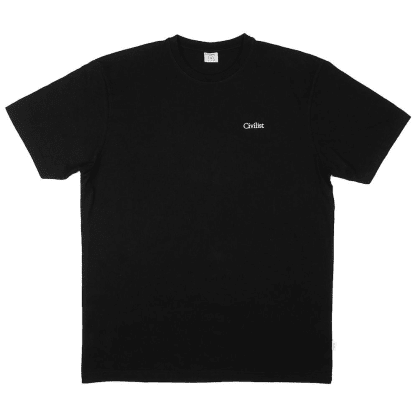 Civilist - Mini Logo Tee - Black
