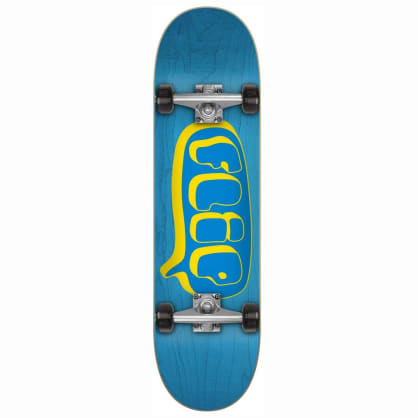 Flip Skateboards Team bubble Blue Complete Skateboard - 7.75