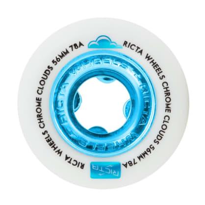Ricta Wheels Chrome Clouds 78A Blue 56mm