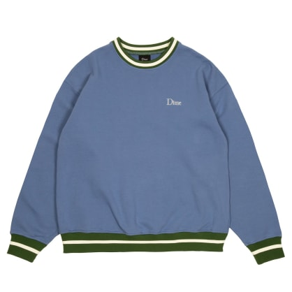 Dime Classic French Terry Crewneck - Blue