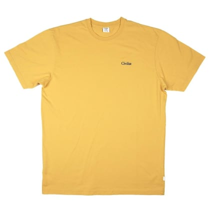 Civilist - Mini Logo Tee - Old Yellow