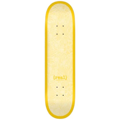 Real - Flowers - Yellow - Skateboard Deck - 8.38""