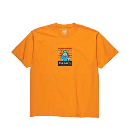 Polar Robbery Tee - Bright Orange