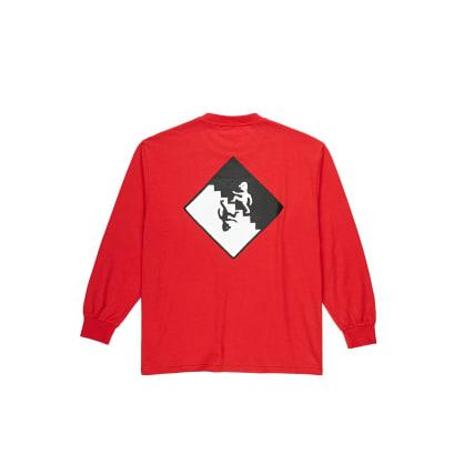 Polar Skate Co Staircase Long Sleeve T-Shirt - Red