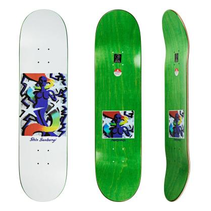 """Polar Skate Co Shin Sanbongi Queen Skateboard Deck - 7.875"""""""