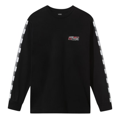 Vans x Baker Speed Check Long Sleeve T-Shirt - Black
