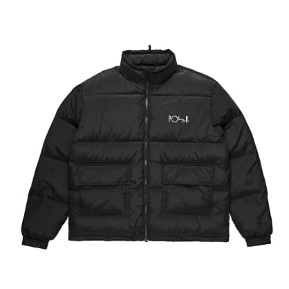 Polar Skate Co Pocket Puffer - Black