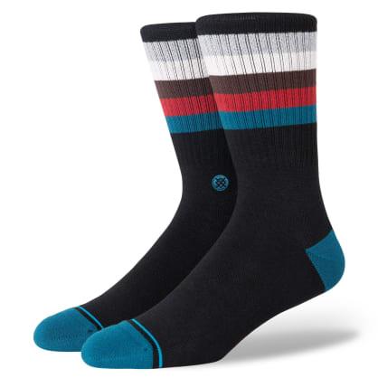 Stance Socks - Stance Maliboo   Black