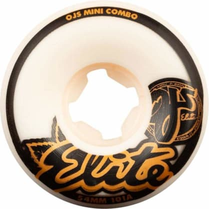 Oj Wheels - OJ Elite Mini Combo Skate Wheels | 101A 54mm