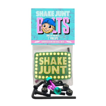 "Shake Junt Skateboard Fixing Bolts Jamie Foy Pro Bolts - 1"" Allen Key"