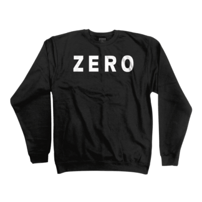 Zero Army Crewneck- (Black)