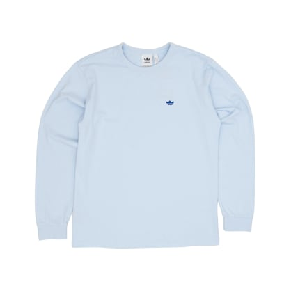 Adidas Mini Shmoo Longsleeved T-Shirt - Ice Blue/Royal Blue