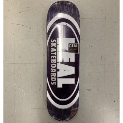 Real Skateboards Team Oval Pearl Patterns Deck