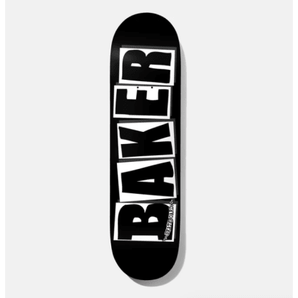 Baker Skateboards - Baker Brand Logo Black Deck 8.25