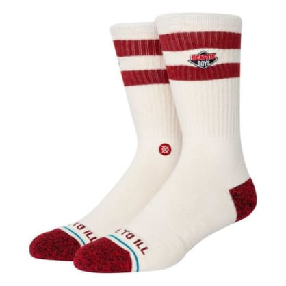 Stance Socks - Stance License to Ill Socks 2 | Cream Canvas