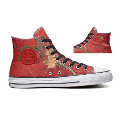 Converse CTAS High Pro Realtree University Red - Black - White