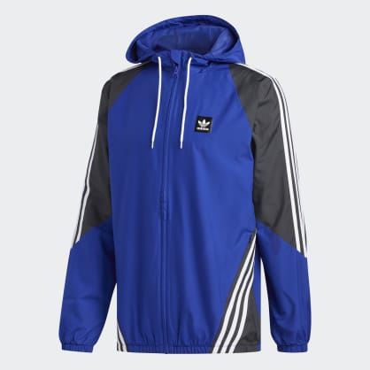 adidas Insley Jacket - Active Blue/Solid Grey/White