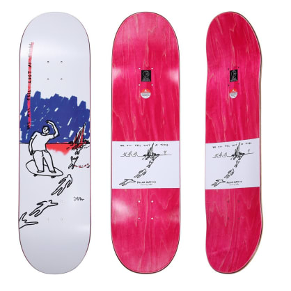 """Polar We All Feel Lost At All Times Skateboard Deck - 8.625"""""""