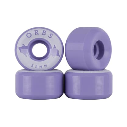 Welcome Skateboards Orbs Specters Solids Wheels 52mm - Lavender