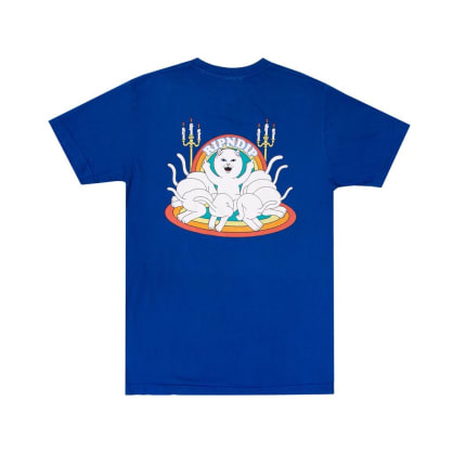 Rip N Dip Praise T-Shirt - Royal Blue