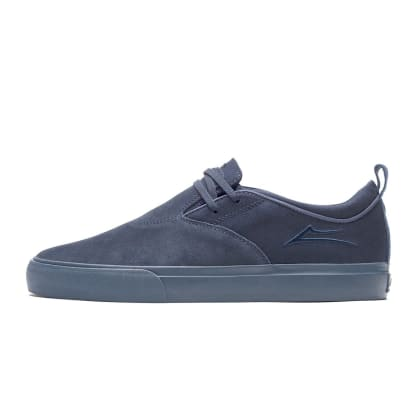 Lakai Riley Hawk II Shoes - Navy/Navy Suede