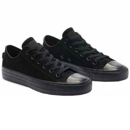 Converse Cons CTAS Pro Low Top Skate Shoes - Black / Black / Black