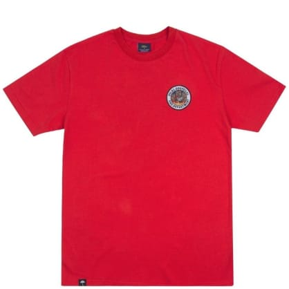 Hélas Fire Dept T-Shirt - Red