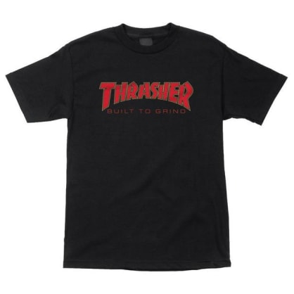 Thrasher Built To Grind Indy Tee Black
