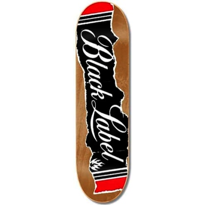 Black Label Old Box Assorted Stain Deck 8.5″